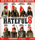 The Hateful Eight - German Movie Cover (xs thumbnail)