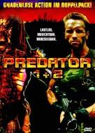 Predator 2 - German DVD movie cover (xs thumbnail)