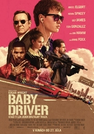 Baby Driver - Slovak Movie Poster (xs thumbnail)