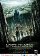 The Maze Runner - Czech Movie Poster (xs thumbnail)