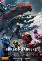 Power Rangers - Australian Movie Poster (xs thumbnail)