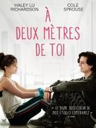 Five Feet Apart - French DVD cover (xs thumbnail)
