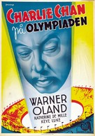 Charlie Chan at the Olympics - Swedish Movie Poster (xs thumbnail)