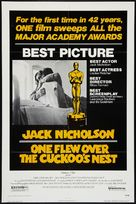One Flew Over the Cuckoo's Nest - Movie Poster (xs thumbnail)