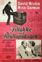 Happy Anniversary - Danish Movie Poster (xs thumbnail)
