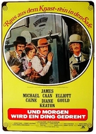Harry and Walter Go to New York - German Movie Poster (xs thumbnail)