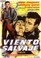 Wild Is the Wind - Spanish Movie Poster (xs thumbnail)