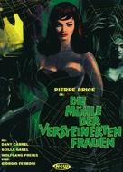 Il mulino delle donne di pietra - German DVD cover (xs thumbnail)