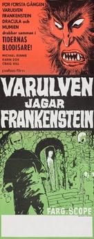 Los monstruos del terror - Swedish Movie Poster (xs thumbnail)