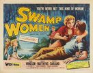 Swamp Women - Theatrical poster (xs thumbnail)