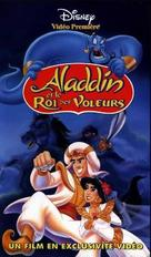 Aladdin And The King Of Thieves - French VHS movie cover (xs thumbnail)