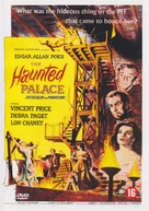 The Haunted Palace - Belgian DVD movie cover (xs thumbnail)