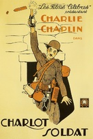 Shoulder Arms - French Movie Poster (xs thumbnail)