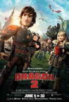 How to Train Your Dragon 2 - Lebanese Movie Poster (xs thumbnail)