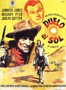 Duel in the Sun - Spanish Movie Poster (xs thumbnail)