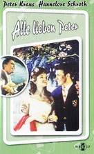 Alle lieben Peter - German VHS cover (xs thumbnail)