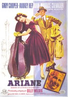 Love in the Afternoon - Spanish Movie Poster (xs thumbnail)