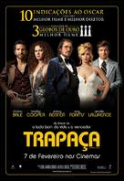 American Hustle - Brazilian Movie Poster (xs thumbnail)