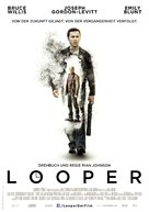 Looper - German Movie Poster (xs thumbnail)
