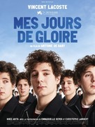 Mes jours de gloire - French Movie Poster (xs thumbnail)
