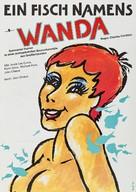 A Fish Called Wanda - German Movie Poster (xs thumbnail)