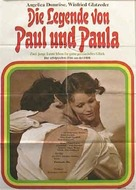Die Legende von Paul und Paula - German Movie Poster (xs thumbnail)