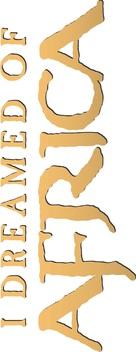 I Dreamed of Africa - Logo (xs thumbnail)