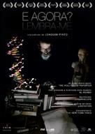 E Agora? Lembra-me - Spanish Movie Poster (xs thumbnail)