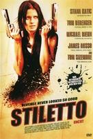 Stiletto - German Movie Cover (xs thumbnail)