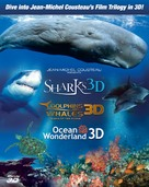 Sharks 3D - Blu-Ray cover (xs thumbnail)