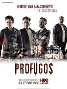 """Prófugos"" - Chilean Movie Poster (xs thumbnail)"