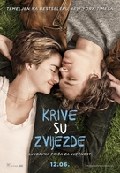 The Fault in Our Stars - Bosnian Movie Poster (xs thumbnail)