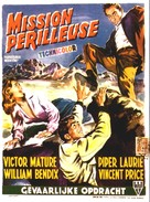 Dangerous Mission - Belgian Movie Poster (xs thumbnail)