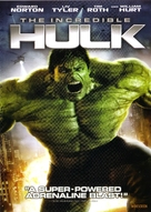 The Incredible Hulk - DVD cover (xs thumbnail)
