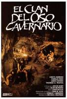 The Clan of the Cave Bear - Spanish Movie Poster (xs thumbnail)