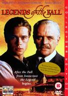 Legends Of The Fall - British DVD cover (xs thumbnail)