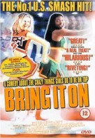 Bring It On - British DVD movie cover (xs thumbnail)