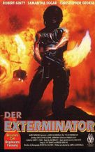 The Exterminator - German VHS movie cover (xs thumbnail)