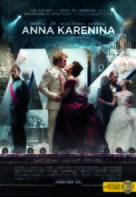 Anna Karenina - Hungarian Movie Poster (xs thumbnail)