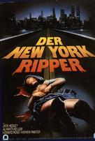 Lo squartatore di New York - German Movie Poster (xs thumbnail)