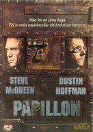 Papillon - Portuguese DVD cover (xs thumbnail)