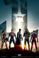 Justice League - Turkish Movie Poster (xs thumbnail)