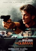 The Gunman - Swedish Movie Poster (xs thumbnail)