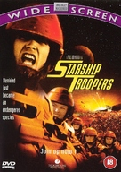 Starship Troopers - British DVD movie cover (xs thumbnail)