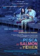Salmon Fishing in the Yemen - Spanish Movie Poster (xs thumbnail)