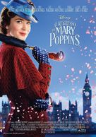 Mary Poppins Returns - Portuguese Movie Poster (xs thumbnail)