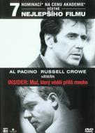 The Insider - Czech DVD movie cover (xs thumbnail)