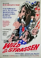 Wild in the Streets - German Movie Poster (xs thumbnail)