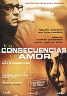 Conseguenze dell'amore, Le - Spanish Movie Poster (xs thumbnail)