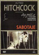 Sabotage - Spanish DVD cover (xs thumbnail)